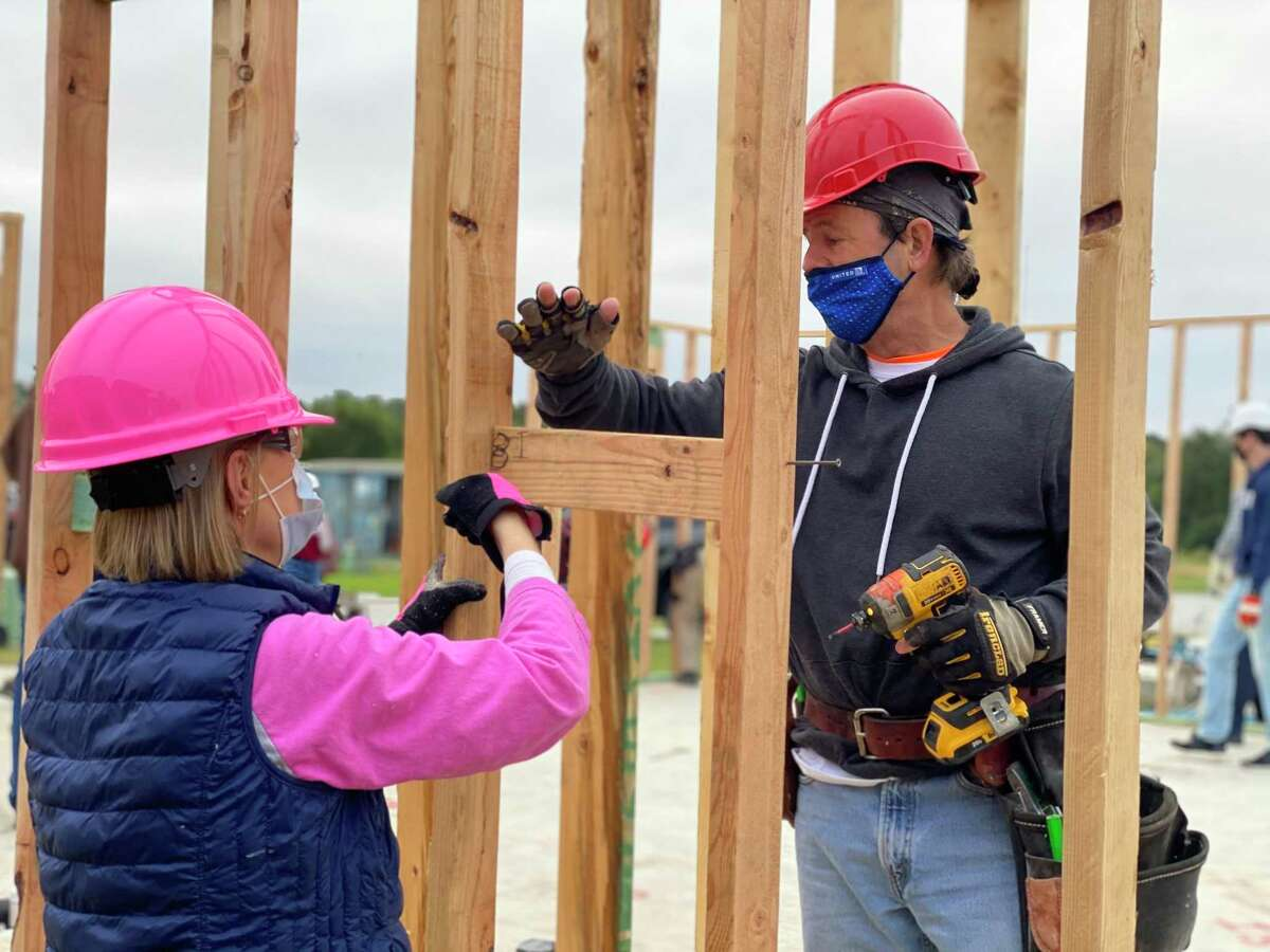 Volunteers and donors help to make home ownership a reality for families in our community by participating with Habitat for Humanity of Montgomery County. To maintain opportunities for volunteer support Habitat MCTX has created a