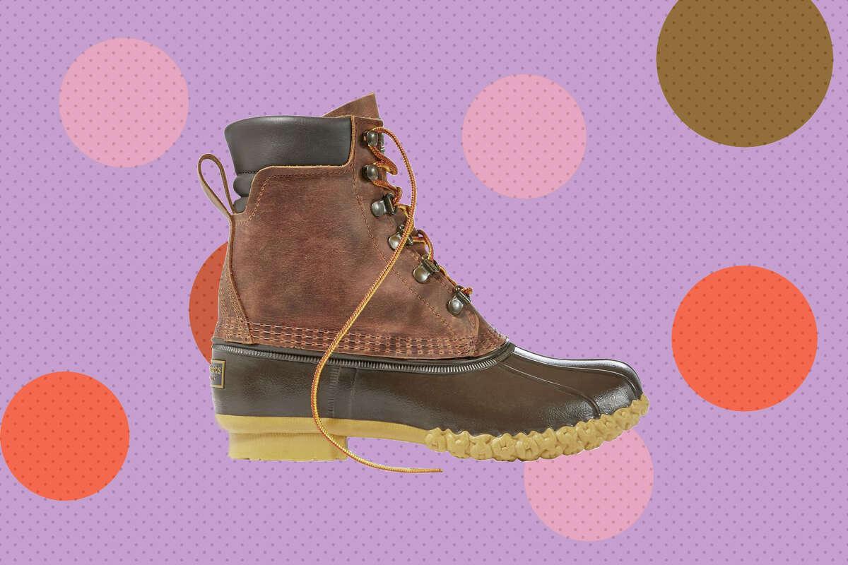 "Women's Bean Boots, 8"" PrimaLoft/Gore-Tex and Men's Bean Boots, 8"" PrimaLoft/Gore-Tex for $129.99 at L.L. Bean."
