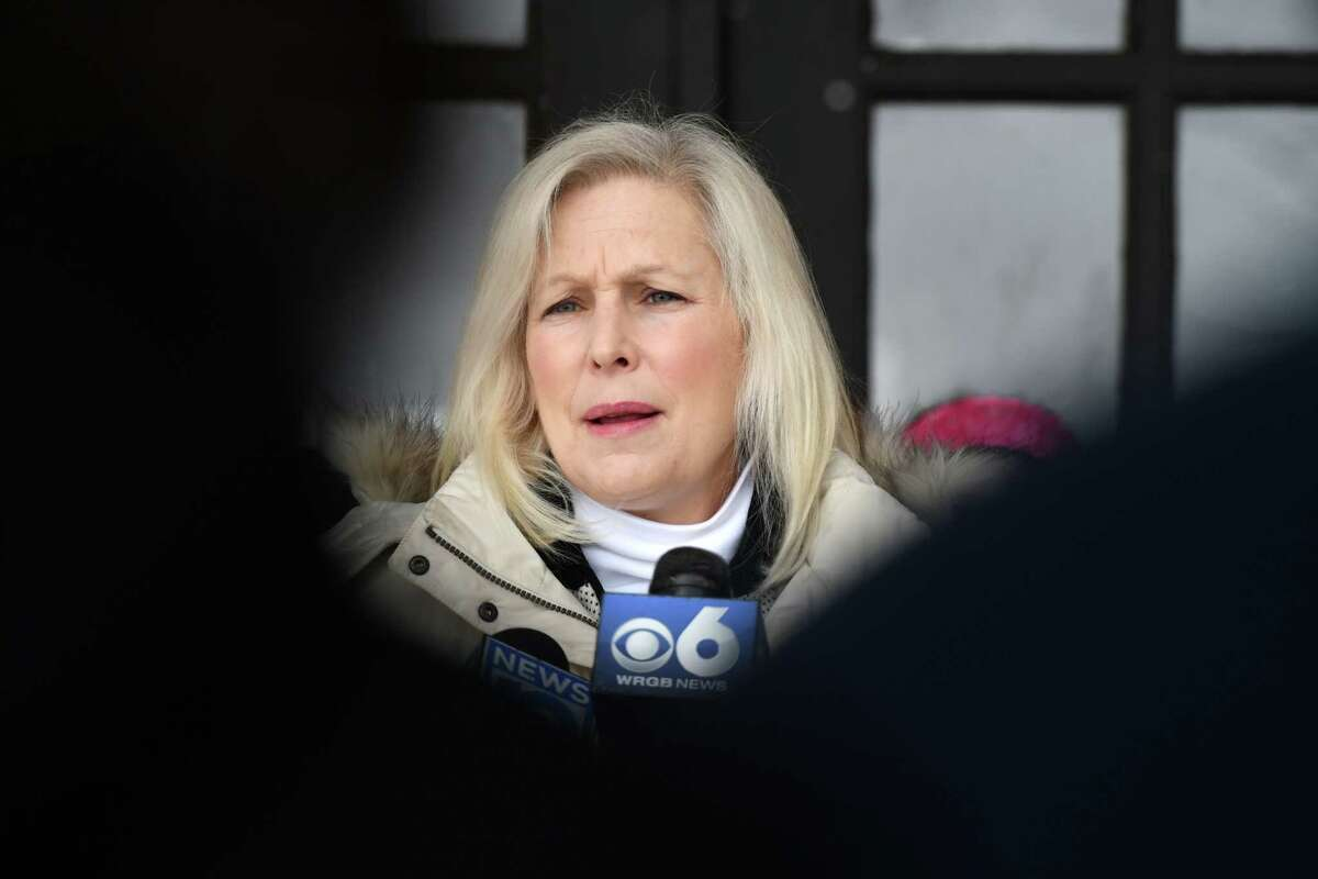 An increasing number of lawmakers have called for Gov. Andrew M. Cuomo to step down after three women have alleged he sexually harassed them. U.S. Sen. Kirsten Gillibrand is supportive of an investigation being conducted on the matter but has stopped short of calling for the governor to step aside. (Will Waldron/Times Union)