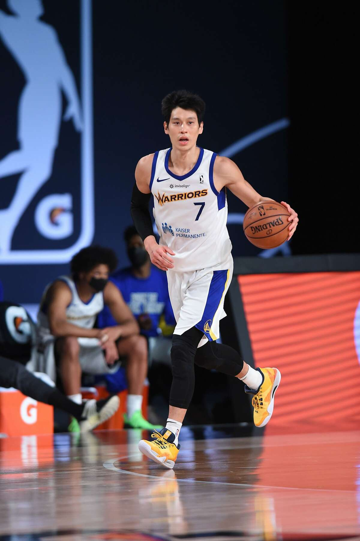 In five G League games this season, Jeremy Lin is averaging 19.6 points on 48.3% shooting (48.4% from 3-point range), 7.2 assists, 2.8 rebounds and 1.6 steals.