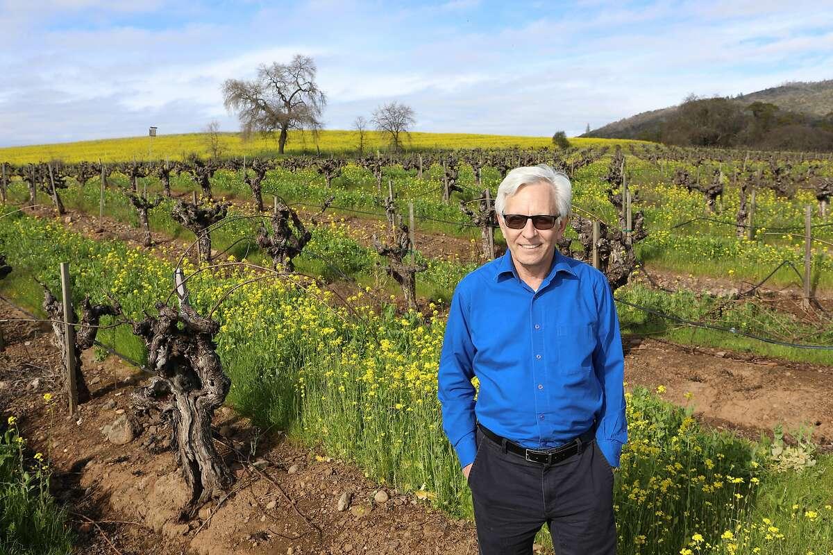 Vintage Wine Estates CEO Pat Roney at BR Cohn Winery in Glen Ellen.