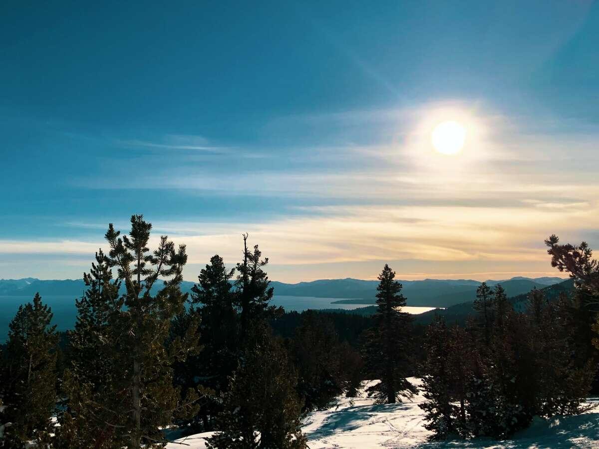 The view from Chickadee Ridge in Lake Tahoe.