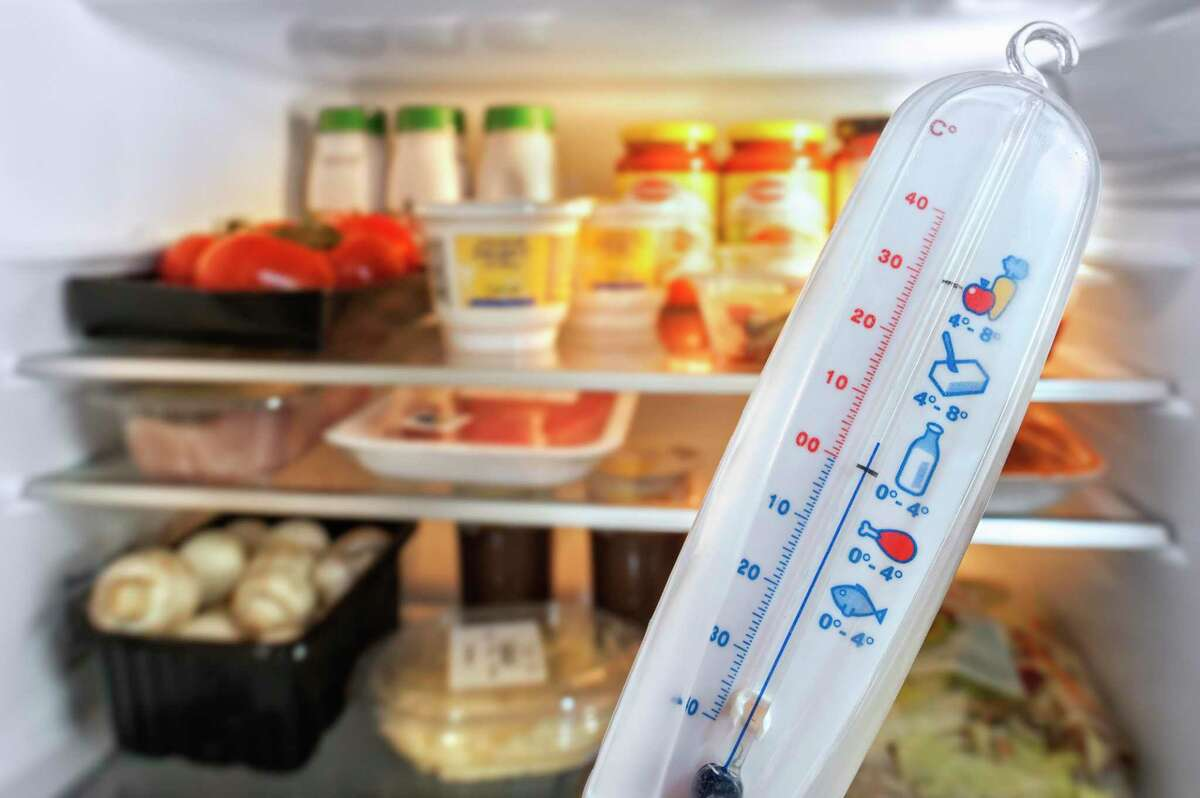 It's a good idea to invest in simple analog thermometers to keep an eye on your food's temperature in case of a blackout.