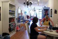 Woofgang & Co., a Fairfield shop and a non-profit that provides jobs for young adults with disabilities. The shop offers sells treats, accessories and toys for dogs and their humans.