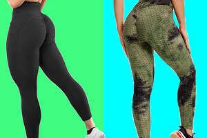Aurgelmir Womens Scrunch Workout Sports Leggings , Starting at $18.69 on Amazon    SEASUM Women's High Waist Yoga Pants , Starting at $22.49 on Amazon
