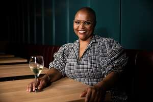 Chef Tonya Holland is the chef of Brown Sugar Kitchen in Oakland.