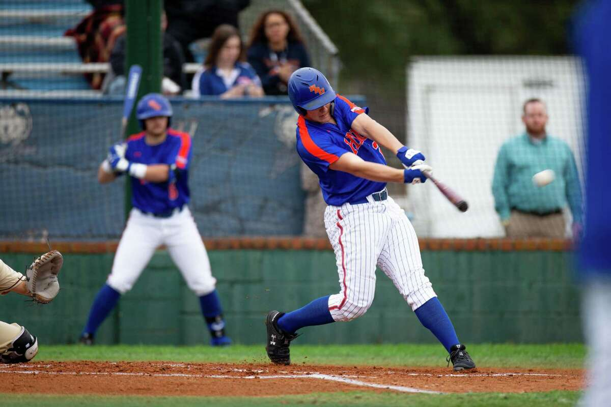 HBU outfielder Brandon Bena, who returned for another