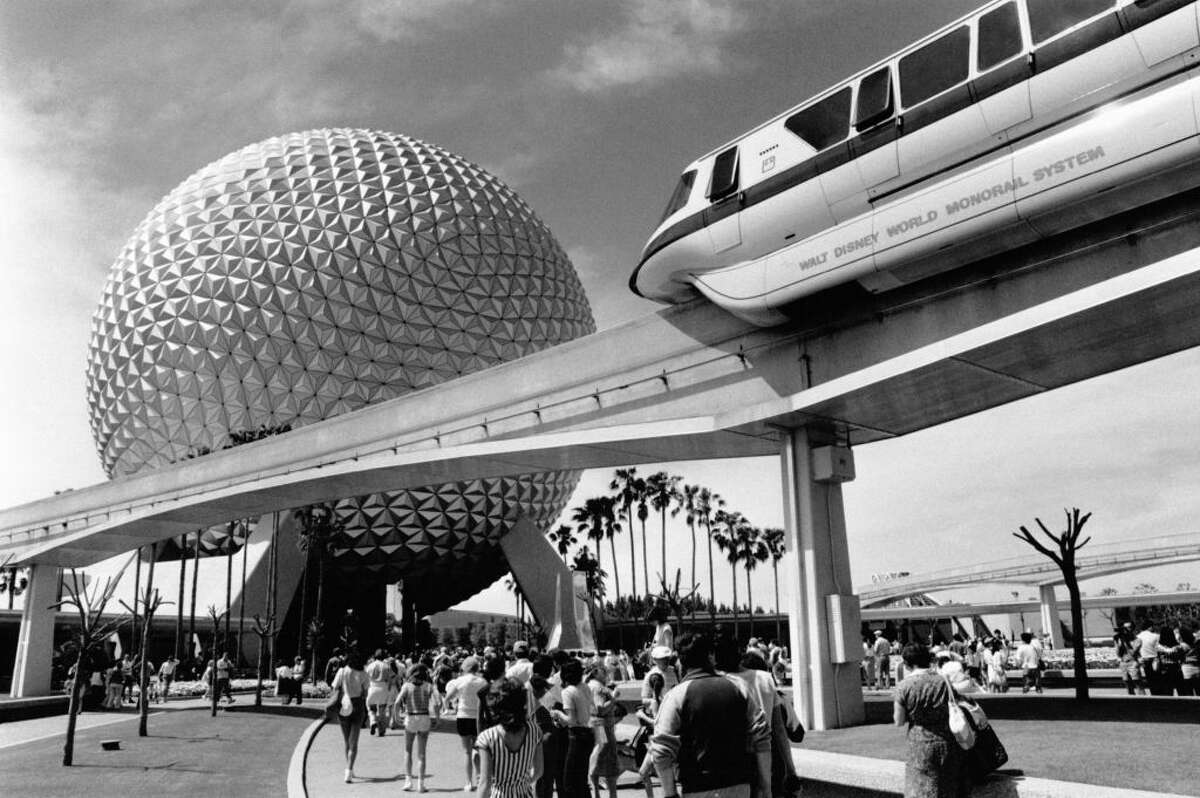 Epcot Center in 1984.