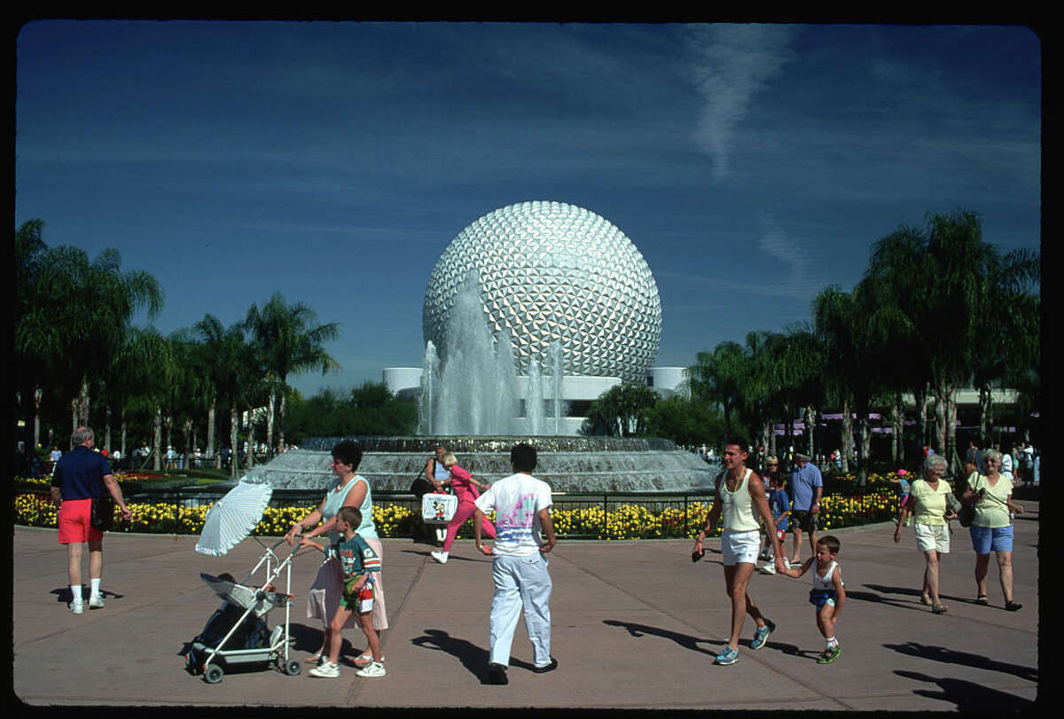 Epcot Center in 1990.