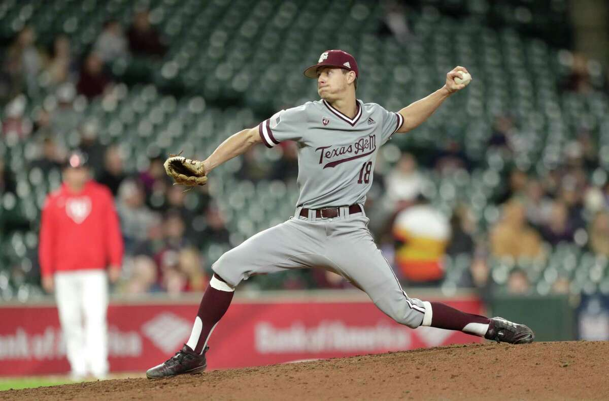 Texas A&M's Chandler Jozwiak was drafted by the Marlins in Tuesday's 13th round.