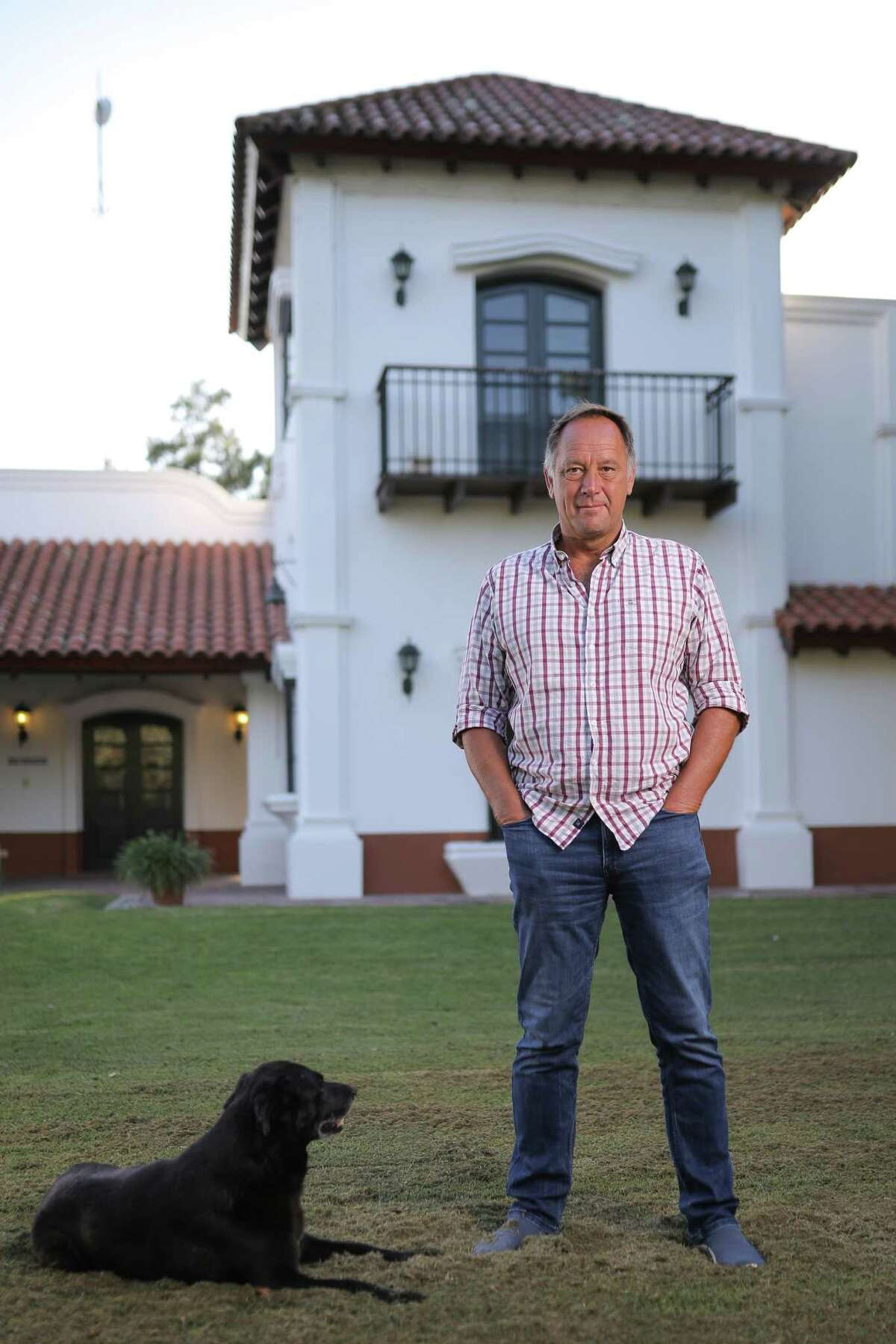 Córdoba farmer Gabriel De Raedemaeker, first vice president of the Argentine Rural Confederation, owns 1,700 acres in Argentina's western Pampas. MUST CREDIT; Photo by Nicolás Aguilera for The Washington Post.