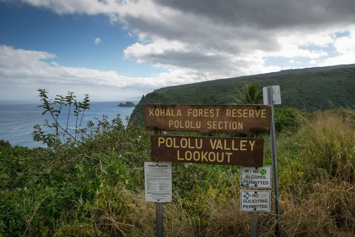 The Pololu Valley Lookout is a popular destination for both residents and visitors.