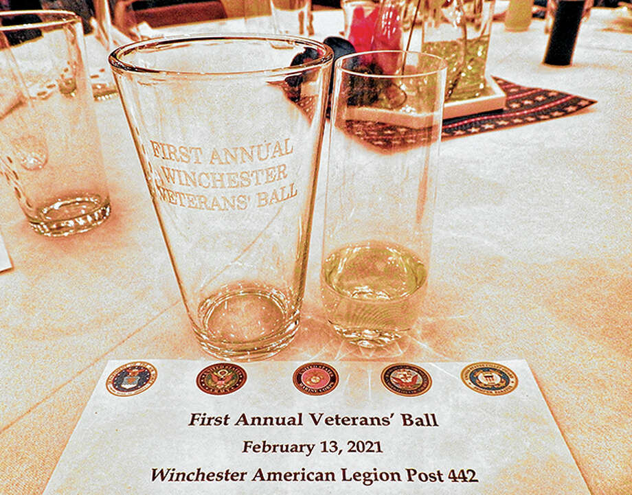 Winchester veterans were welcomed to the first Veterans' Ball on Feb. 13. Photo: Elizabeth Jones   Journal-Courier