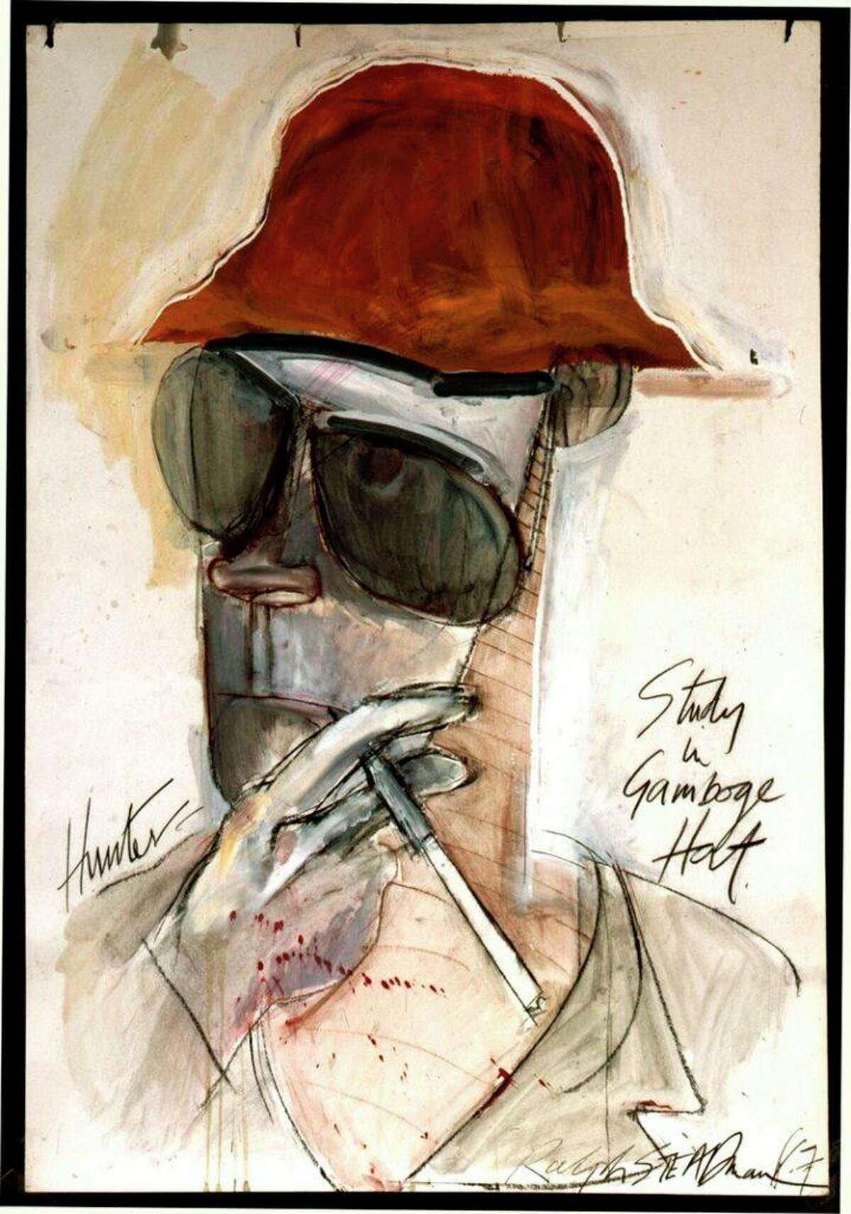 Used with permission by Ralph Steadman, courtesy of Michael Lindenberger.