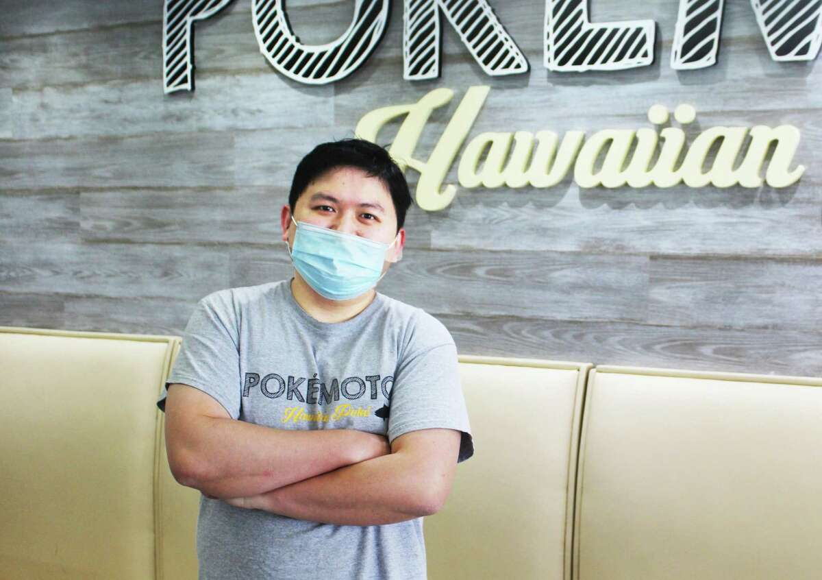 Chi Hing Sze, who owns Pokémoto Middletown in Main Street Market, 386 Main St., recently partnered with SaladCraft in a