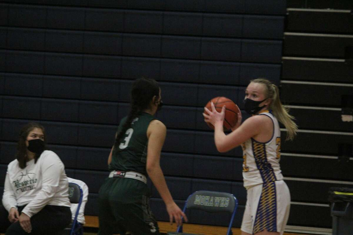 A huge 18-4 third quarter for Morley Stanwood lifted the Mohawks over Hesperia on Friday 39-29.