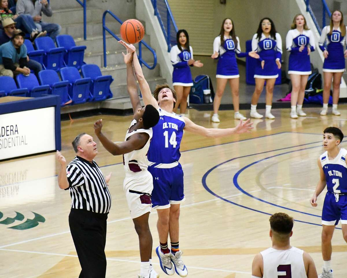 Olton suffered a 57-54 loss to Ralls in the bi-district round of the Class 2A boys basketball playoffs on Friday in the Rip Griffin Center at Lubbock Christian University.