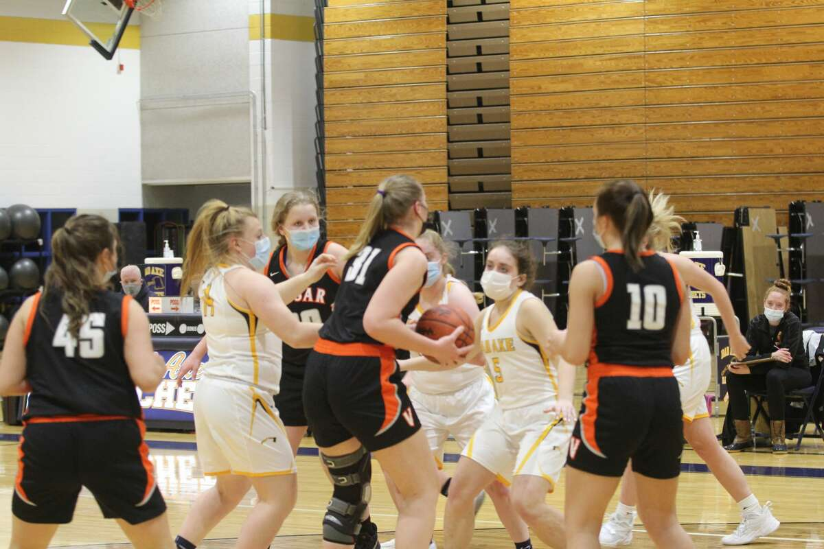 The Bad Axe girls basketball team shook off a tough loss to Reese earlier in the week to earn a 36-14 win over Vassar on Friday night.