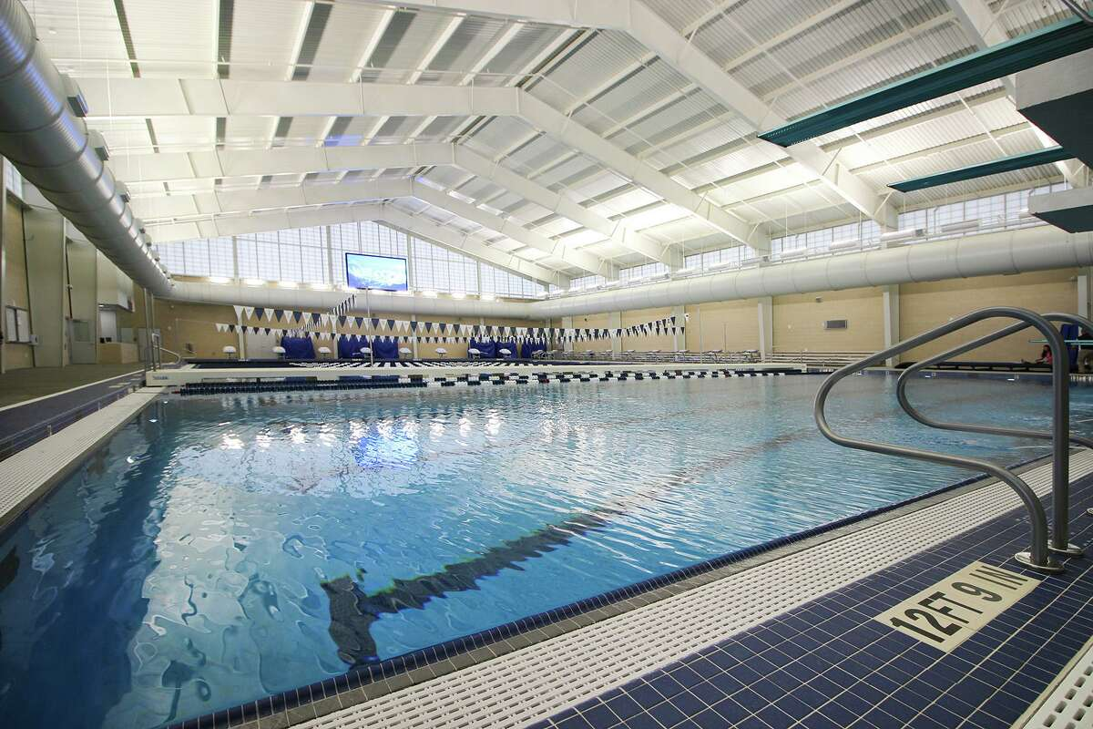 Tomball ISD's new aquatic center, built at Tomball Memorial High School