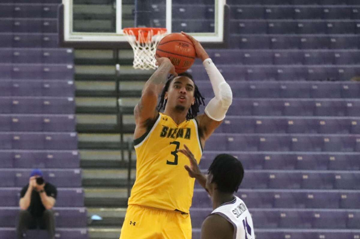 Manny Camper of Siena said the team is building its cohesion as it heads into March.
