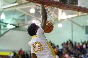 There was no love lost as Beaumont United and North Shore laid it all out in their basketball game on Friday, February 14, 2020, to decide first place in their district. Fran Ruchalski/The Enterprise