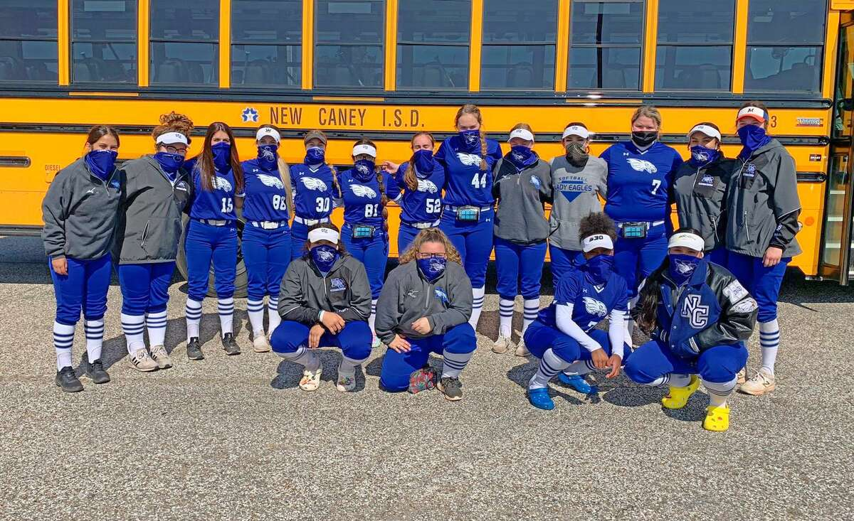 The New Caney softball team opened the season with two victories on Saturday, beating Humble and Atascocita.