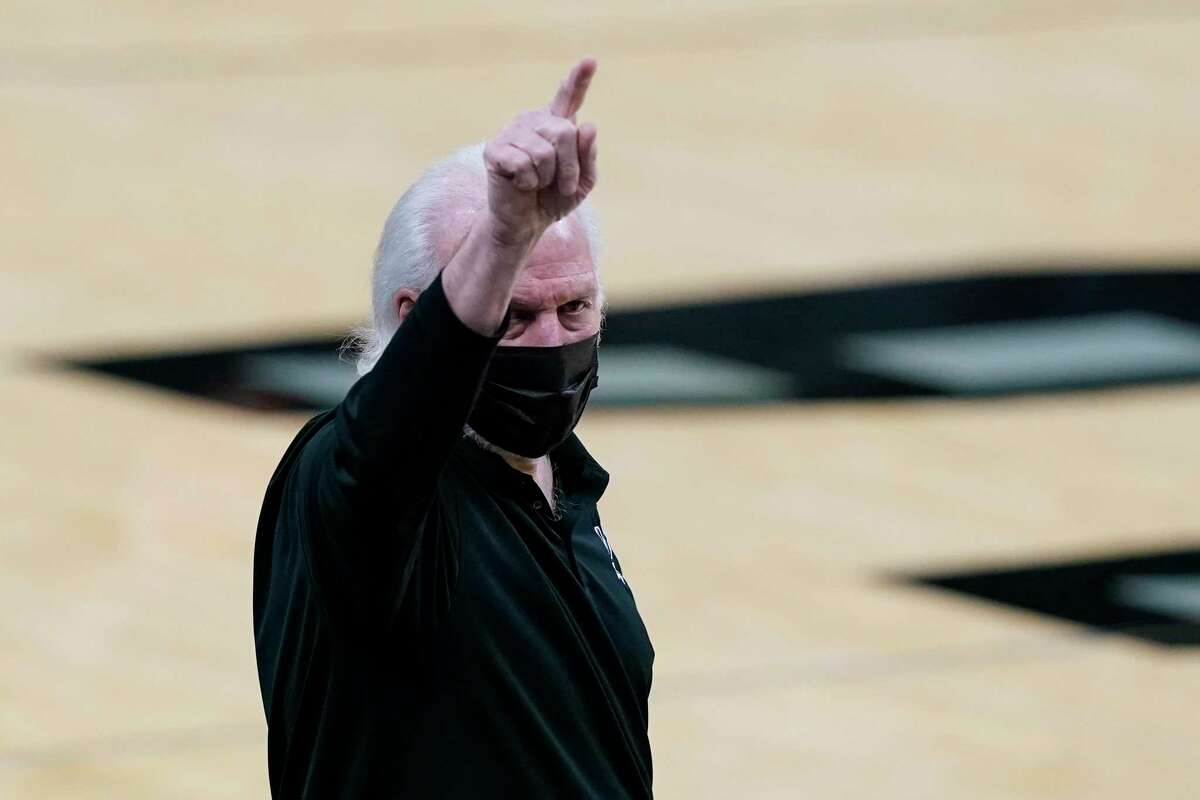 Gregg Popovich's Spurs are the fifth NBA team this season to have at least three straight games called off.