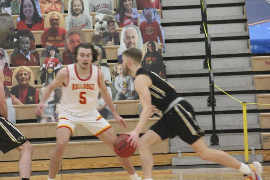 Purdue Northwest used the rebounding advantage for an 80-77 win over Ferris State's men's basketball team on Saturday Photo: John Raffel