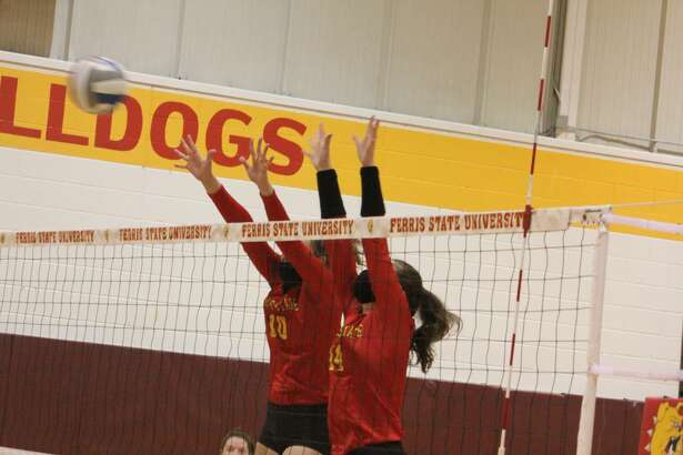 Northern Michigan defeated Ferris' volleyball team on Saturday for a weekend split.