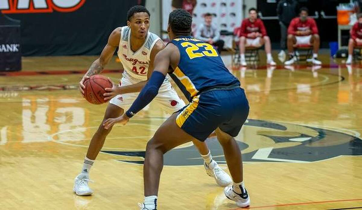 SIUE's Shamar Wright scored 10 points in Saturday's loss at Murray State.