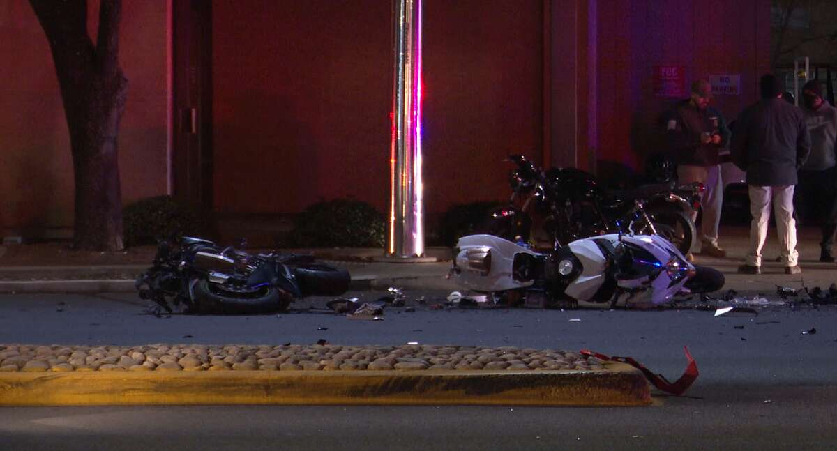A motorcyclist was killed Feb. 20, 2021, after he and several other bikers slammed into a taxi in the 5200 block of Westheimer Road.
