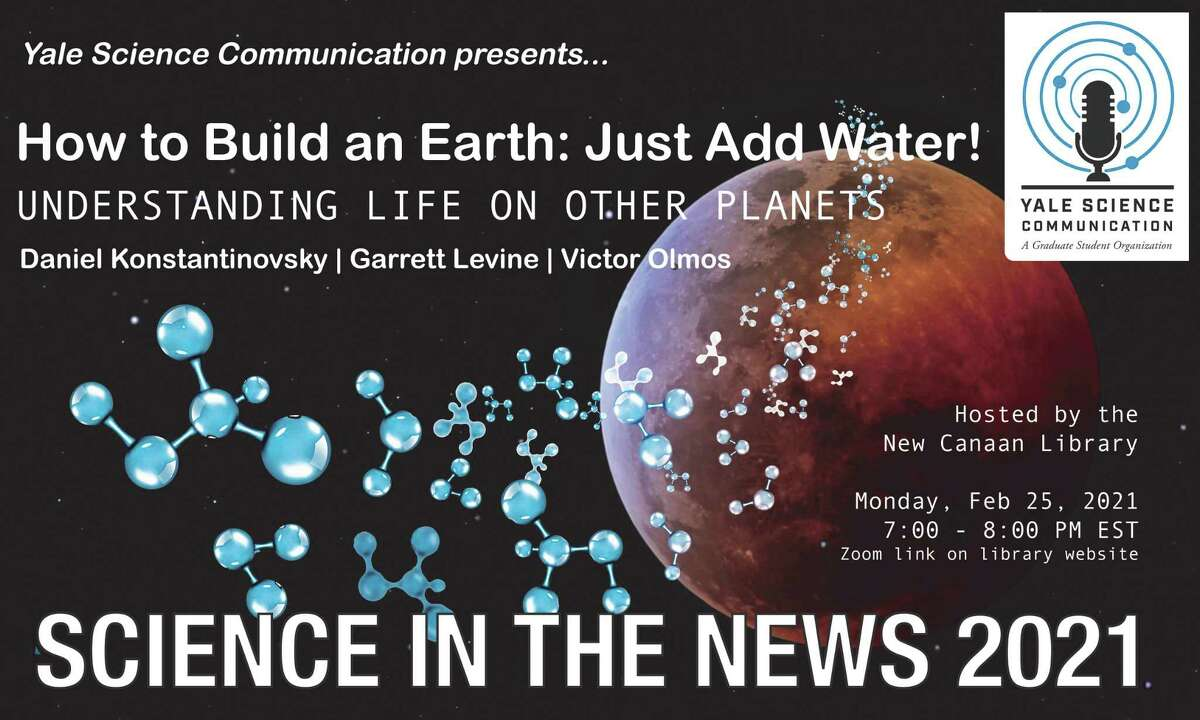 The New Canaan Library is welcoming back the organization, Yale Science Communication, for a discussion via a live webinar Science in the News' talk titled: