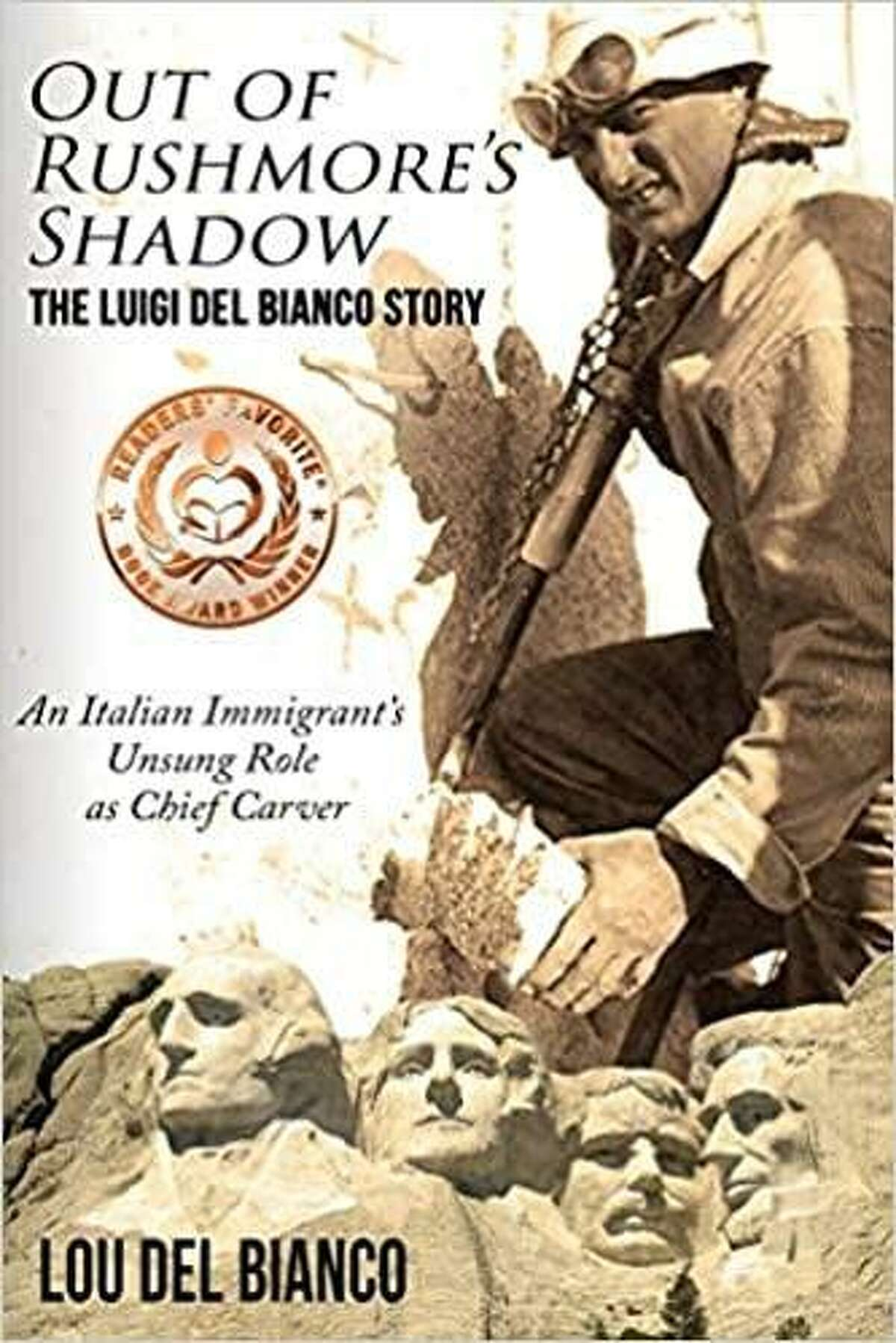 Lou Del Bianco tells the story of his grandfather, Luigi Del Bianco, a chief carver of Mount Rushmore, in his book and one-man performance,