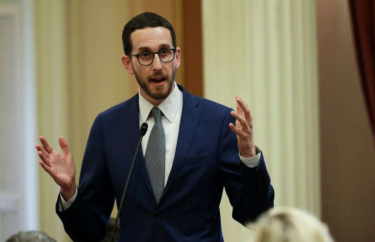 State Sen. Scott Wiener, D-San Francisco, is trying to ban fracking in California.