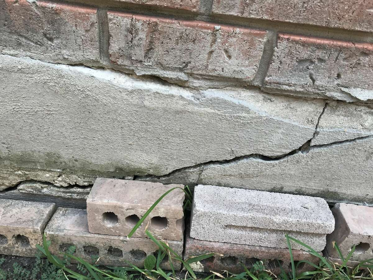It's OK to have tiny, fine cracks on outside walls or steps, but large exterior cracks manifesting in a zig-zag pattern could be an indicator to check on your foundation.