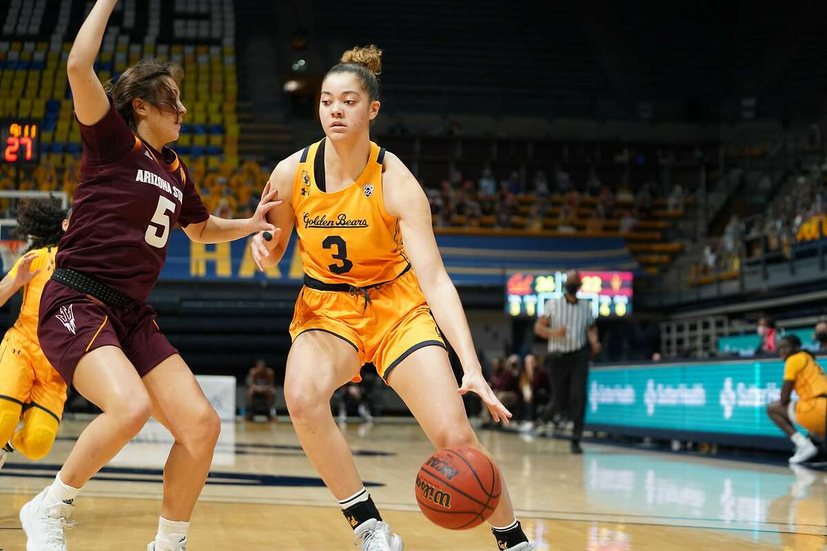 Dalayah Daniels had eight points in Cal's win over Arizona State at Haas Pavilion.