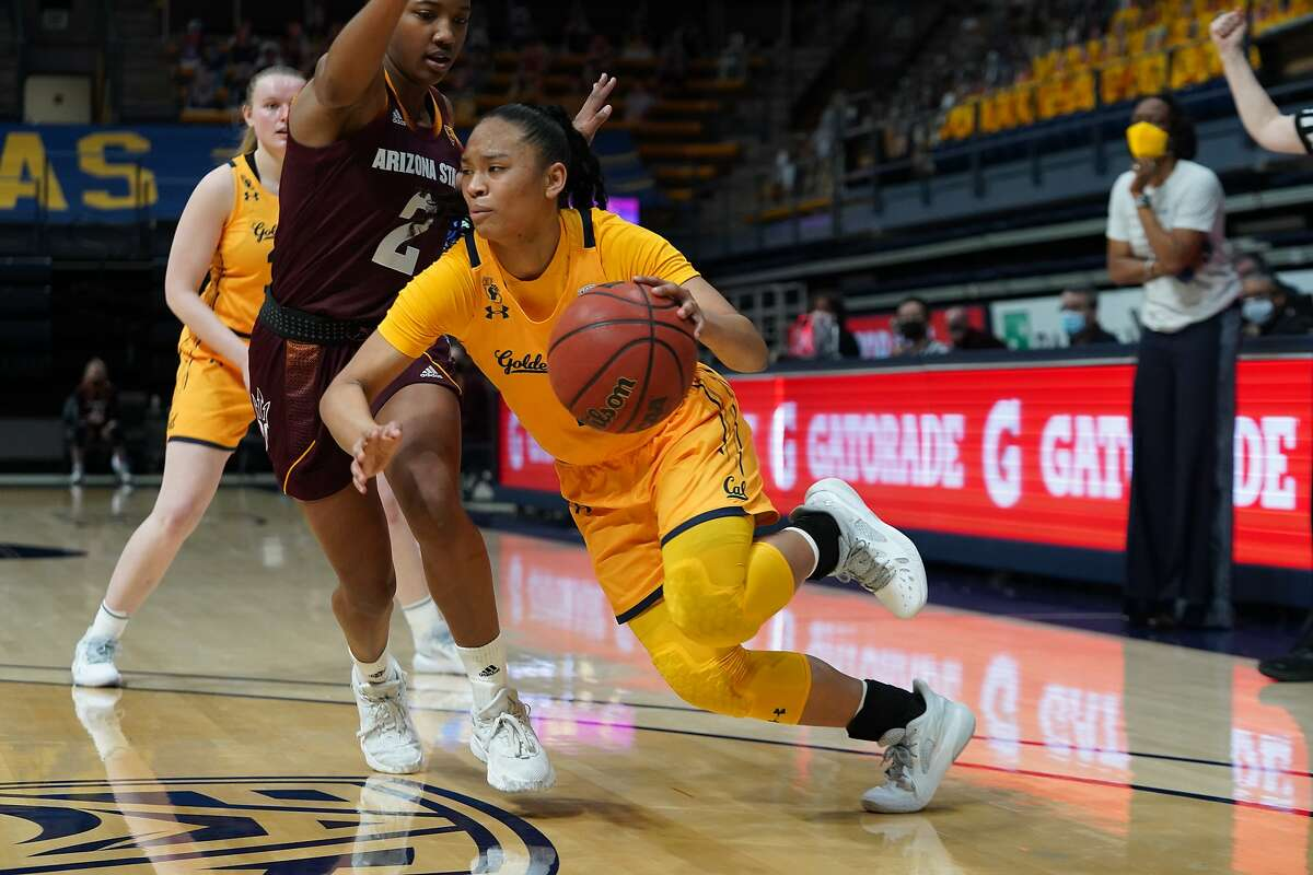 Cal guard Leilani McIntosh scored a game-high 21 points in the Bears' win over ASU.