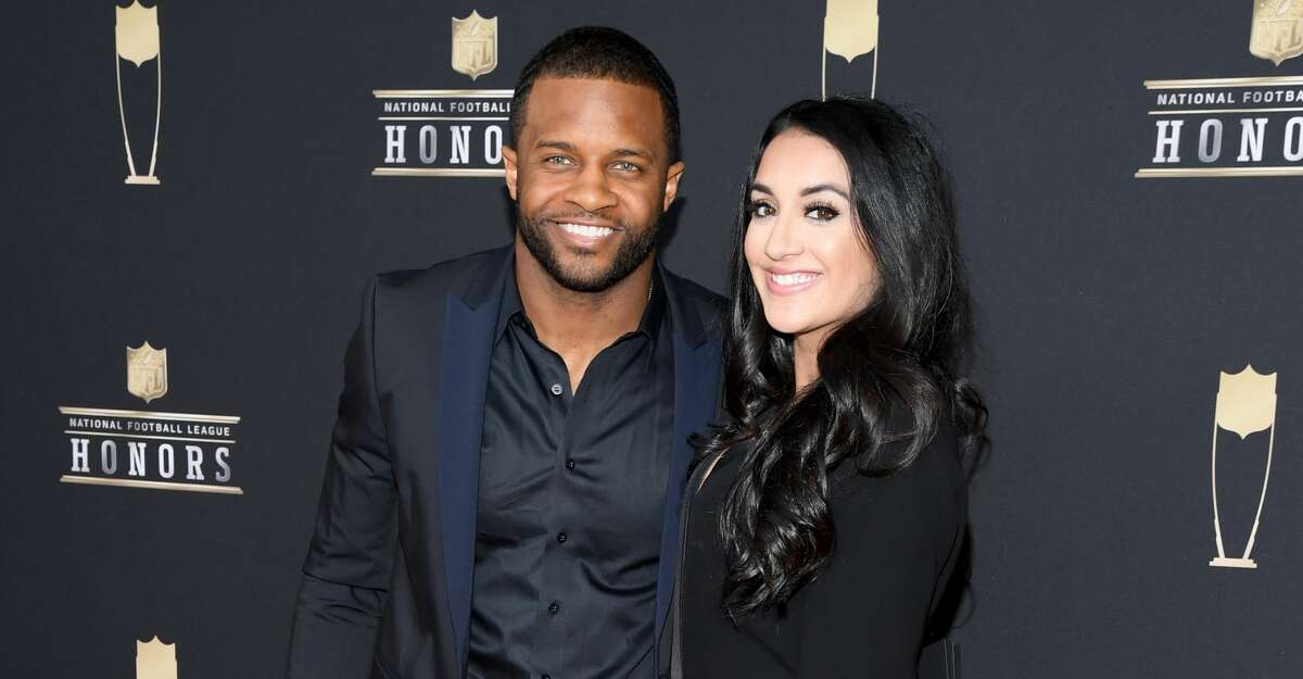 NFL player Randall Cobb (L) and Aiyda Ghahramani attend the 8th Annual NFL Honors at The Fox Theatre on February 02, 2019 in Atlanta, Georgia. (Photo by Jason Kempin/Getty Images)