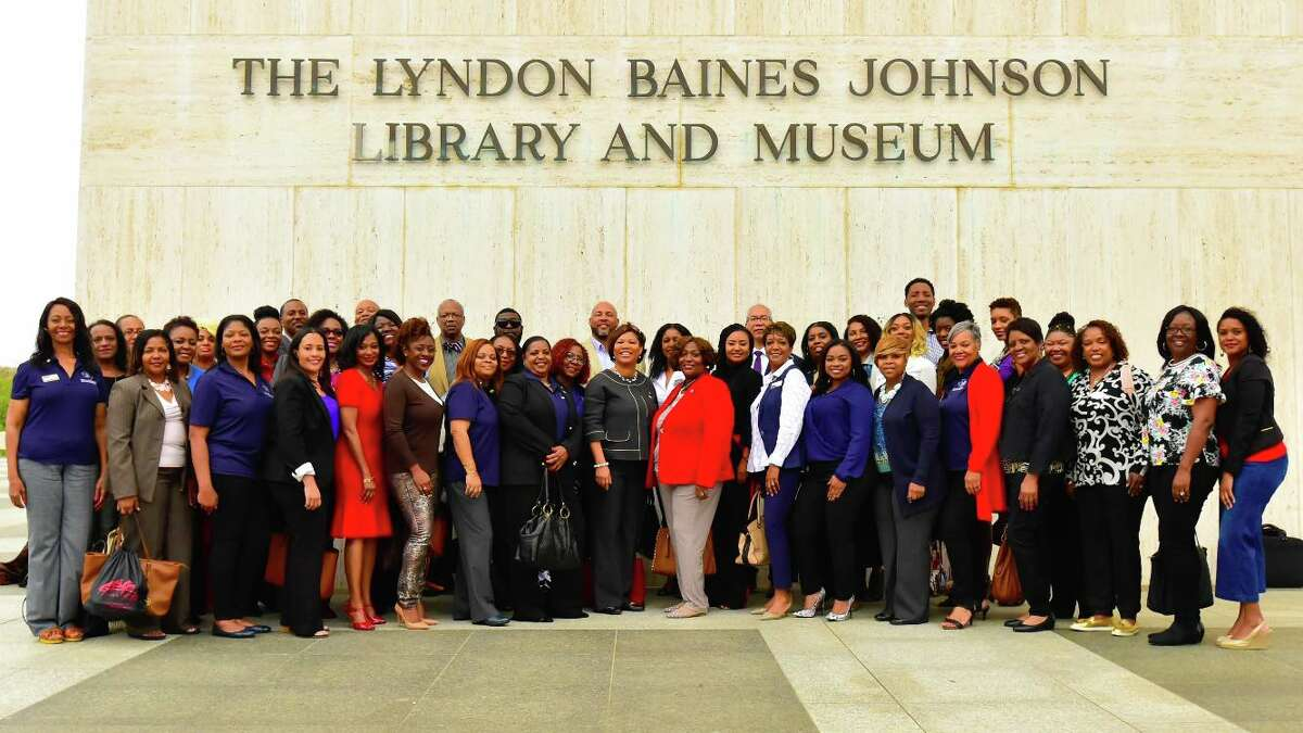 SAAREB members visited the Lyndon Baines Johnson Library and Museum in Austin to commemorate the 50th anniversary of the Fair Housing Act of 1968.