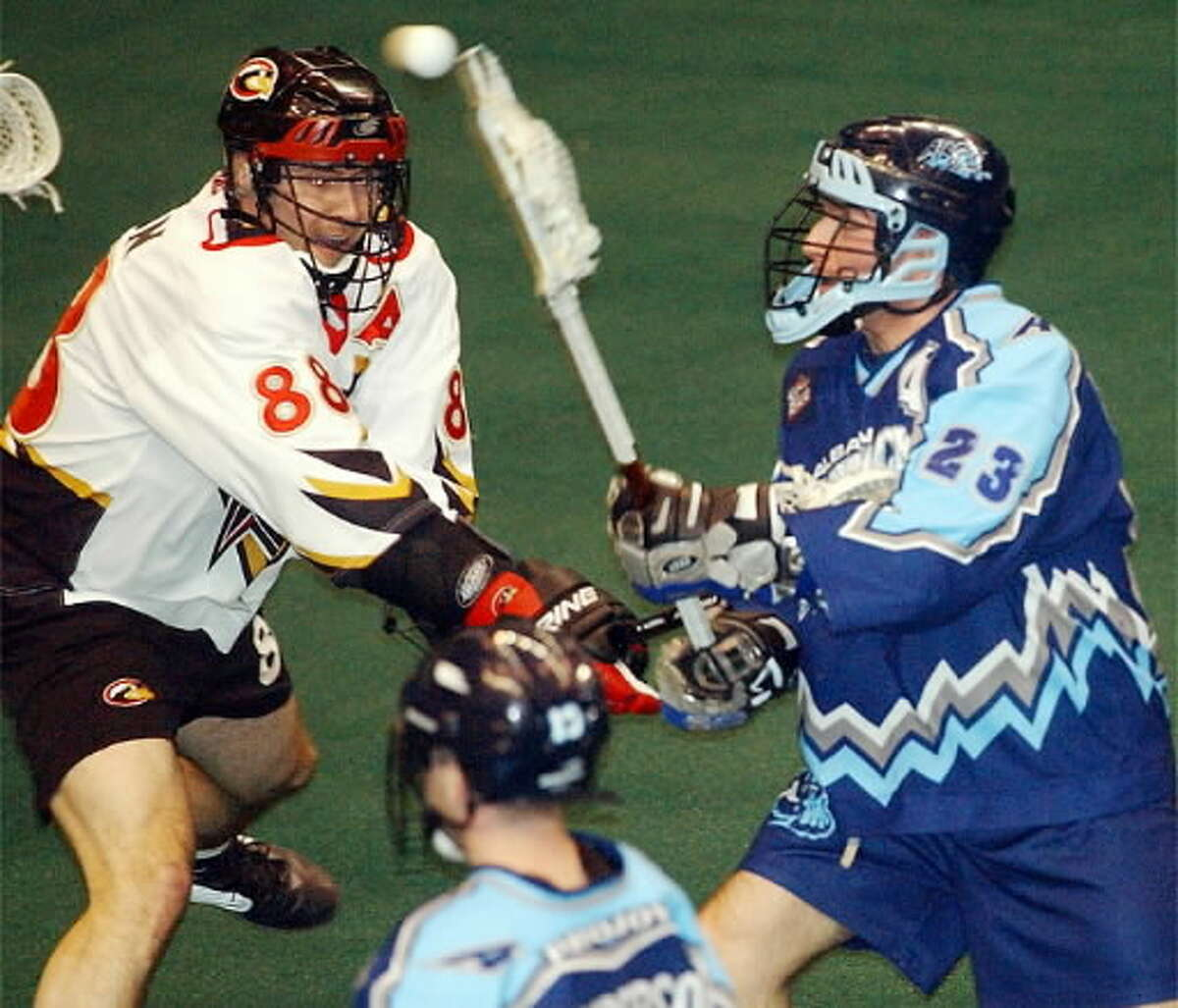 The National Lacrosse League will have a franchise in Albany for the first time since the Attack from 2000 to 2003. (Times Union archive)