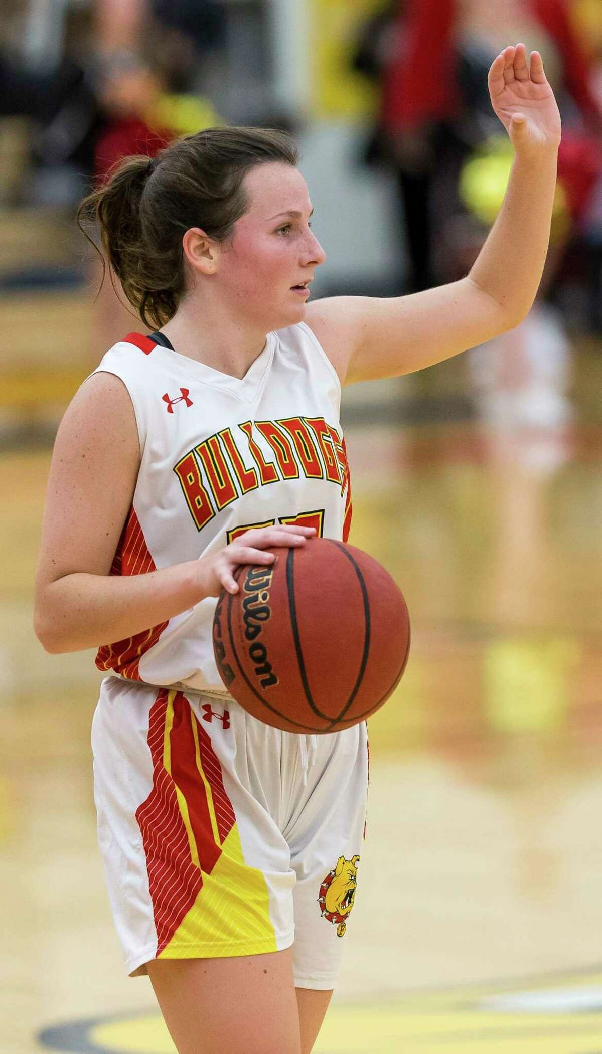 Mallory McCartney scored a career-best 38 points on 15-of-21 shooting for Ferris on Saturday at Purdue Northwest. (Pioneer file photo)