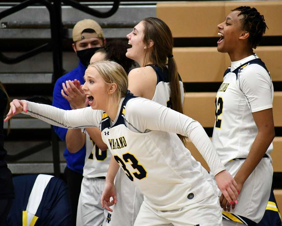 The Wayland Baptist Flying Queens earned a share of the regular-season title and will be the No. 1 seed in the Sooner Athletic Conference tournament, which begins this week. Photo: Nathan Giese/Planview Herald