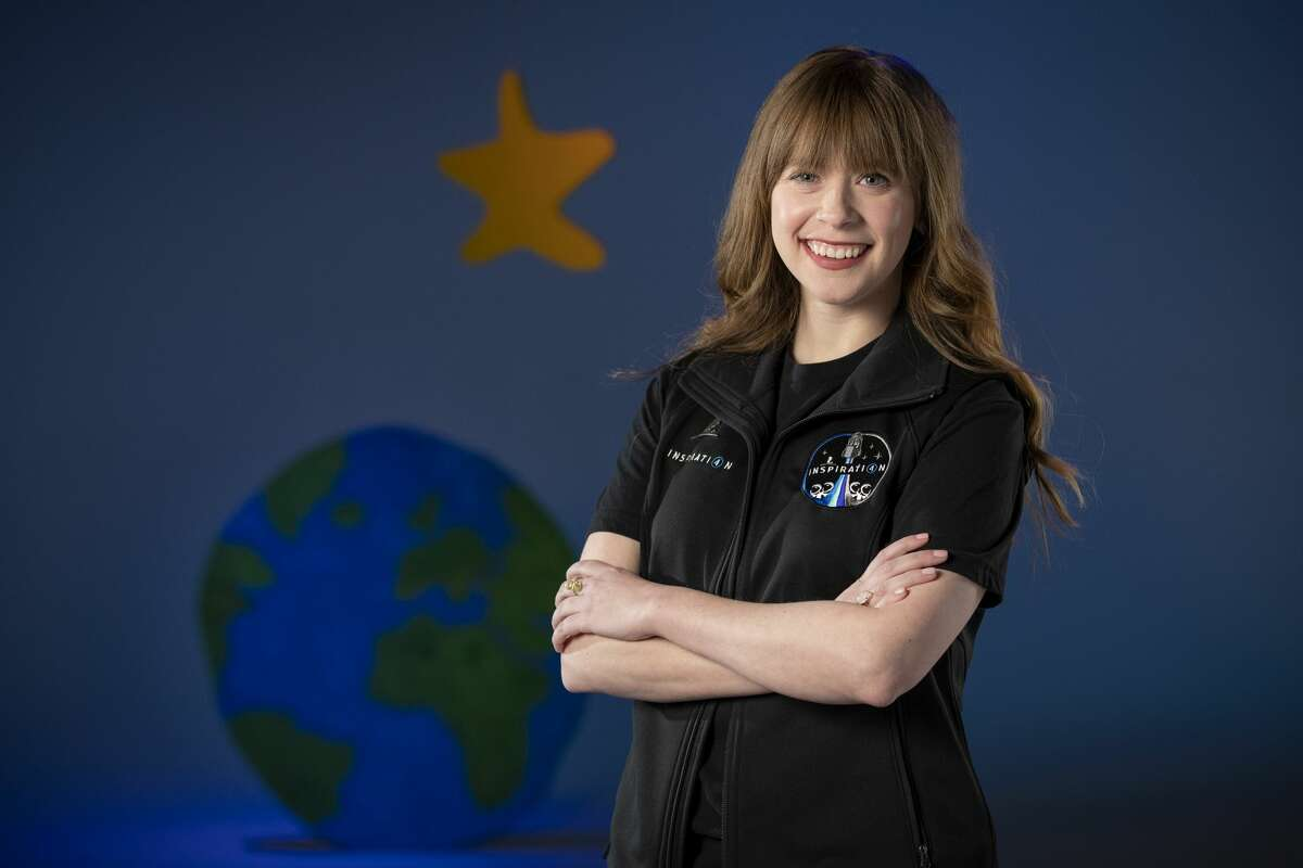 Hayley Arceneaux, 29, of Memphis, Tenn., is a physician assistant at St. Jude Children's Research Hospital. As a child, she was treated for bone cancer at St. Jude. Arceneaux will get a ride into space later this year in a SpaceX Crew Dragon capsule.