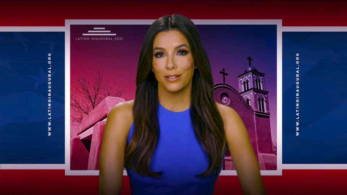 UNSPECIFIED - JANUARY 19: In this screengrab, Eva Longoria speaks during the Latino Inaugural 2021: Inheritance, Resilience and Promise event hosted by the Biden Inaugural Committee on January 19, 2021.The virtual event celebrates the contributions of Latinos to our nation on the eve of President-elect Joe Biden's inauguration. (Photo by Handout/Biden Inaugural Committee via Getty Images) (Photo by Handout/Getty Images)