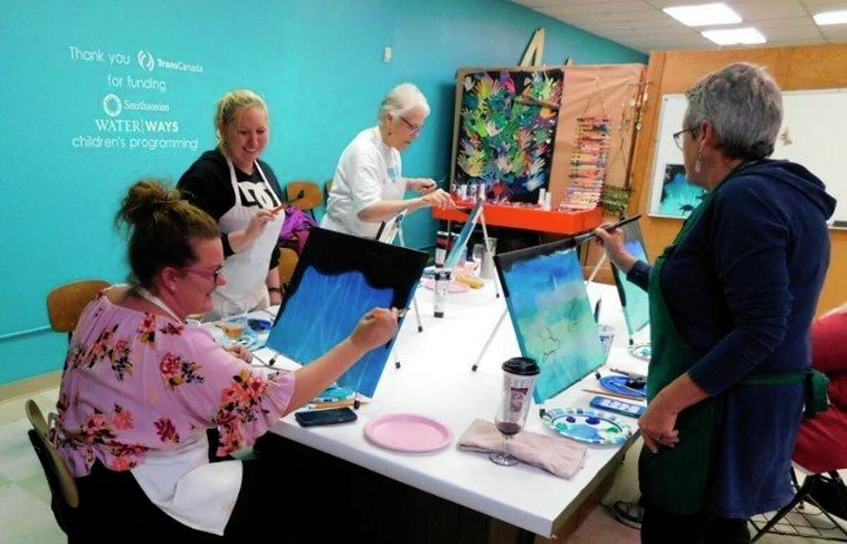 Big Rapids and Reed City Hospital staff members will be able to utilize a $40 voucher at Artworks in 2021 for classes in painting, pottery glazing, stained glass, photography and more. (Courtesy photo)