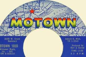 Motown Records label