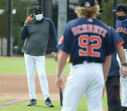 Houston Astros manager Dusty Baker during the first full squad workouts for the Astros, in West Palm Beach, Florida, Monday, February 22, 2021. Photo: Karen Warren, Staff Photographer / @2021 Houston Chronicle