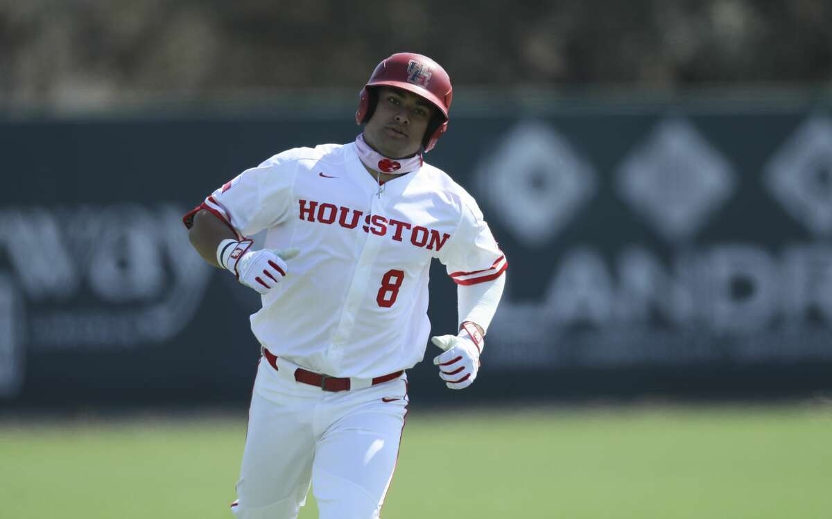 Steven Rivas' opening weekend included hitting two home runs in a sweep of Texas Southern.
