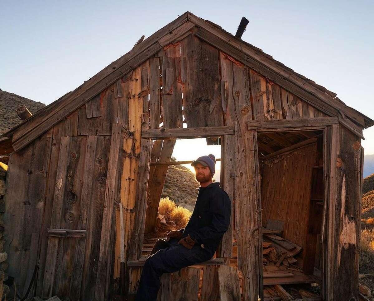 Brent Underwood in Cerro Gordo, Calif.
