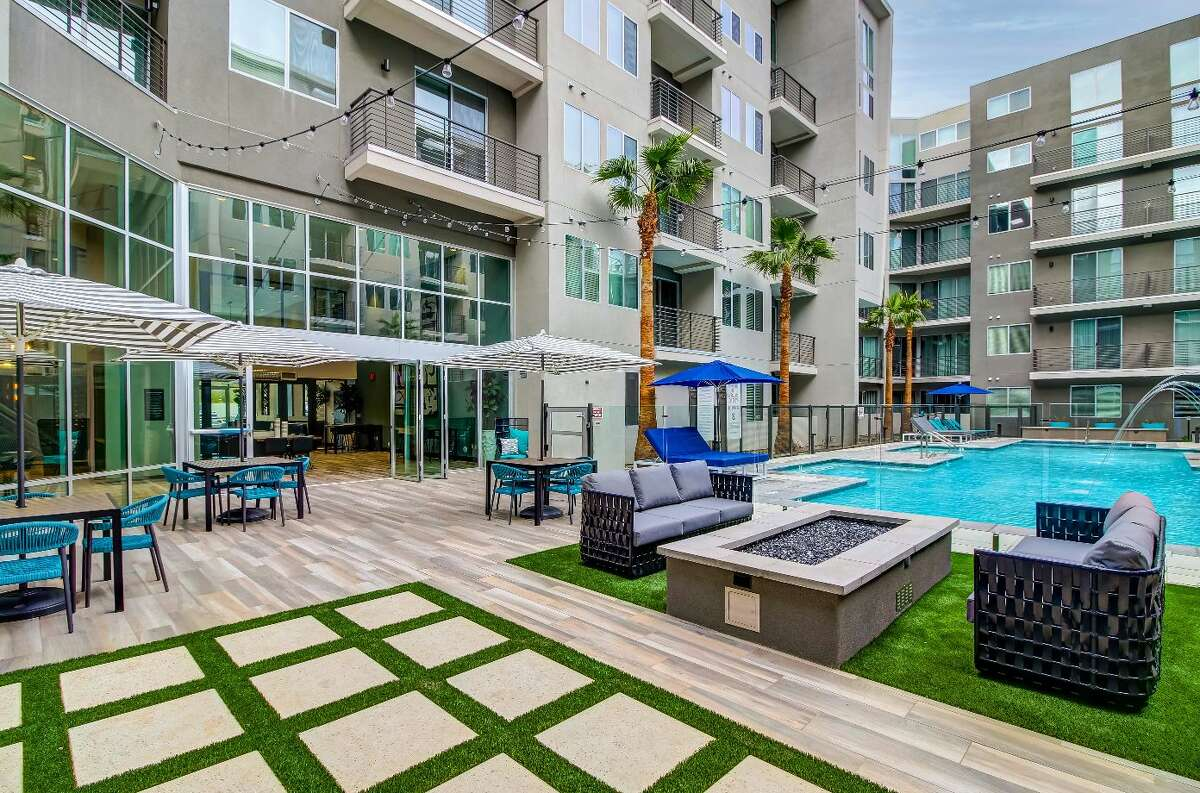 The 472-unit Pearl Biltmore apartment community in Phoenix is a joint venture between Houston-based Morgan and Chicago-based Mesirow.